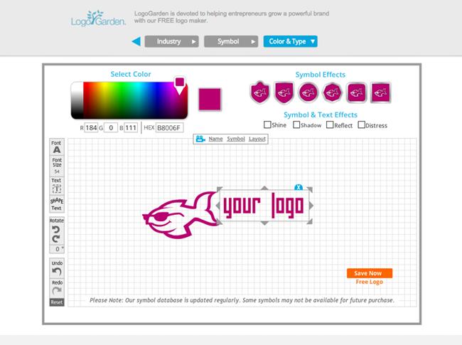 creer un logo avec son nom